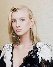 Rodarte Runway Bronze Chandelier Earrings