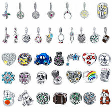 DIY Women Fashion Sterling Silver 925 Charms European Beads Fit Bracelet Chain