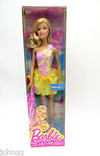 Wal-Mart Exclusive Beautiful Fairy Blonde Barbie Doll - Mattel BGT21