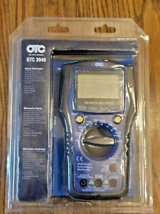 OTC PRO 550 Series Digital Multimeter, Voltage, Amperage, Frequency #3940