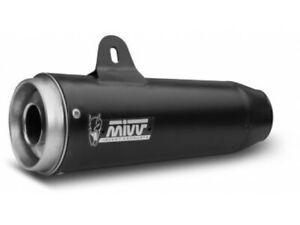 M.011.SGB - Exhaust Mufflers Mivv GHIBLI Stainless Steel MOTO GUZZI V9 BOBBER