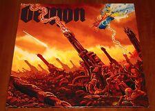 DEMON TAKING THE WORLD BY STORM LP *RARE* SONIC UK PRESS VINYL 1989 GATEFOLD LTD