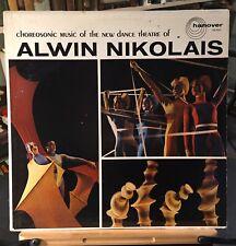 ALWIN NIKOLAIS Choreosonic Music LP Hanover HM-5005 EX! Experimental Dramatic