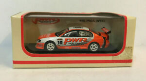 PAUL WEEL RACING #16 PWR HOLDEN VY COMMODORE 1:64 SCALE MODEL CAR BIANTE