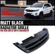 Across Bar Radiator Grille Matt Black for KIA 2013 - 2014 Sorento R