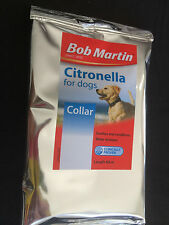 Citronella for dogs- Bob Martin Citronella collar 60cm Repels fleas Condition