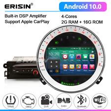 Android 10 DAB CarPlay Car Stereo Satnav USB WiFi DVR OBD BT5.0 BMW Mini Cooper