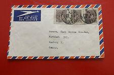 *Brief Beleg - Nigeria nach Deutschland - Hamburg  50-er Jahre (126)