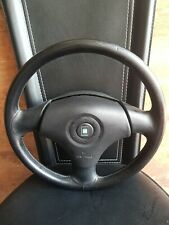 MAZDA MX5 MK2 MK2.5 (1998 - 2005)  Nardi Torino STEERING Wheel airbag leather