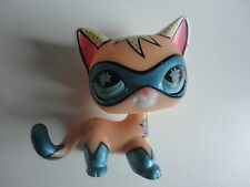 LPS Littlest Pet Shop SAN DIEGO Comic Con Masked Superhero CAT CHAT # euopéen B