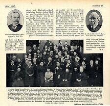 Jahresversammlung Verband Krankenpflegeanstalten Rotes Kreuz in Elberfeld 1902