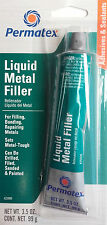 PERMATEX Liquid Metal Filler for Filling, Bonding, Repairing Metals 25909