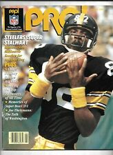 February 1983 NFL Pro! Football Magazine---John Stallworth   VG