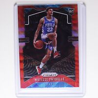 2019-20 Panini Prizm MATISSE THYBULLE RC #290 Rookie Red Ruby Wave Holo 76ers 🔥