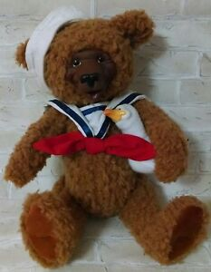 GUND CINNABEARS UNCLE SALTY GISELE NASH Teddy Bear Stuffed Toy Plush