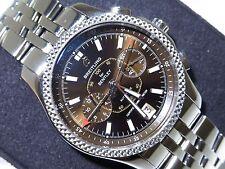 Breitling Bentley Mark VI P26362 Platinum Bezel & Steel Automatic Men's Watch