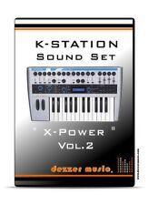 """Novation K-Station Synthesizer """"X-POWER"""" VOL.2 - 100 Sound Patches/Sound Presets"""