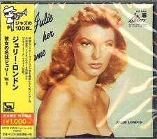 Julie London - Julie Is Her Name, Vol.1 (CD, Japan, Oct-2014) UCCU-99049