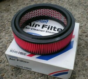 NEW Genuine NISSAN Air Filter (p/n 16546-01B00) - Micra, Pao, Be-1 K10 PK10 BK10