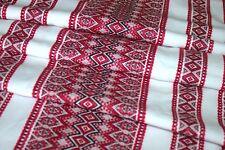 Tablecloth Decorative fabric Ukrainian ornament Slavic Christmas Wedding Decor