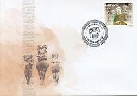 Lithuania People Stamps 2021 FDC Marija Alseikaite Gimbutas Archaeology 1v Set