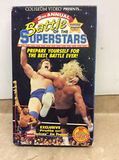 Coliseum WWF - 2nd Annual Battle of the WWF Superstars VHS Big Box Tested!