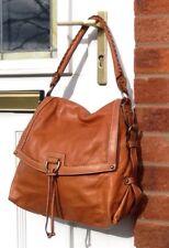 Etienne Mercer Brown Leather Shoulder bag