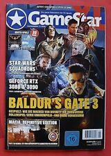 Game Star XL 11/2020 Baldurs Gate 3 + DVD u.  2 Gratis Spiele ungelesen