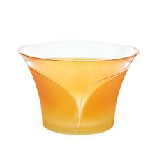 Schale Schüssel Obstschale ~ELEMENTS~ Ø=23,5cm orangegelb (CRISTALICA) GW00802