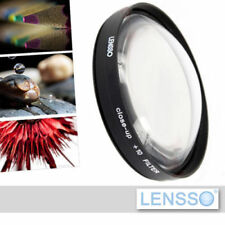 Close Up +10 Lens for macro photography for 52mm lenses - brand Lensso