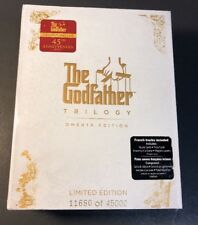 The Godfather Trilogy [ OMERTA Edition ]  (Blu-ray Disc) NEW