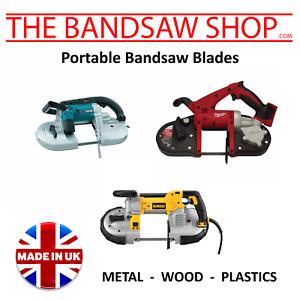 Makita DPB184Z (730mm) Replacement Bimetal Bandsaw Blades