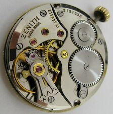Zenith 40T 17 jewels watch movement for part ... serial 5181533