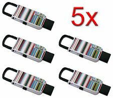 NEW Lot 5 SanDisk Cruzer U Clip 16GB USB Flash Drive Thumb Pen Memory Stick 16 G