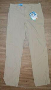 Columbia Aruba Roll Up Pant Women Size 4 Quick Dry Lightweight Pants NWT