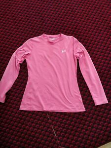 Pink Under Armour Cold Gear Top Size XL