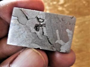 16.77  gram CANYON DIABLO IRON METEORITE ETCHED/SHOCKED SLICE - Meteor Crater