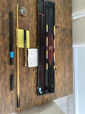 New listing John Parris Snooker Cue And Case
