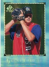 A.J. BURNETT 1999 UPPER DECK SP TOP PROSPECTS GREAT FUTURES ROOKIE CARD RC F17