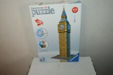 PUZZLE 3D BIG BEN LONDON LONDRES  TOUR    216 PIECES   COMPLET RAVENSBURGER