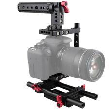 CAMVATE DSLR Camera Cage Handle Grip Rig fr GH5/GH4 Canon 6D 5D Nikon Sony D7000