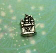 New Magic Fairy Enchanted Castle Charm Silver for Floating Charm Story Necklaces