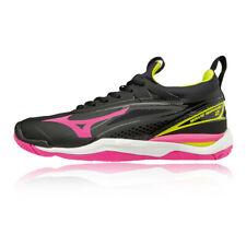 Mizuno Womens Wave Mirage 2 Indoor Court Shoes Black Pink Sports Trainers