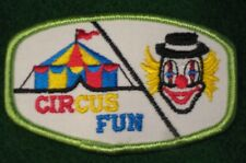 Circus Fun Badge Patch for Cub Boy Girl Scout Clown Tent - NEW