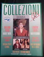 Collezioni Donna Magazine ~ #17 Autumn / winter 1990 / 1991~ Fashion Design