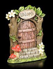 Elfos Puerta - Welcome - FANTASY Hadas Hongo decoración floral