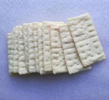 12 Artificial Cookies Soda Cracker Faux Chocolate Cream Sandwich Fake Food decor