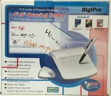 """DigiPro 4"""" x 3"""" Drawing Tablet and Pen/Stylus NEW IN BOX"""