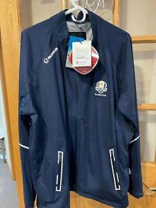 Mens Sunice Zephal Waterproof Golf Jacket Size XL  Ryder Cup 2016