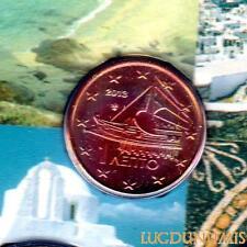 Grèce 2013 - 1 Centime d'euro 20 000 exemplaires Provenant du coffret BU RARE -